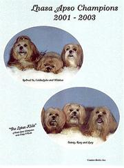 Cover of: Lhasa Apso Champions, 2001-2003