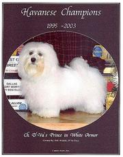 Cover of: Havanese Champions, 1995-2003