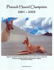 Cover of: Pharaoh Hound Champions, 2001-2003