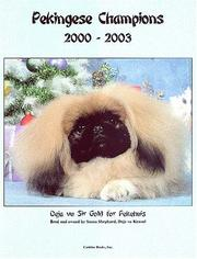 Cover of: Pekingese Champions, 2000-2003