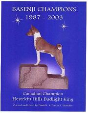 Cover of: Basenji Champions, 1987-2003