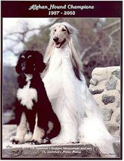 Cover of: Afghan Hound Champions, 1987-2003