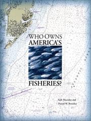 Cover of: Who Owns America's Fisheries? (Pew Ocean Science Series)