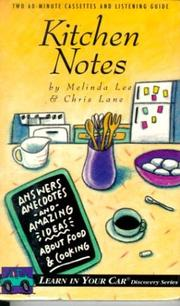 Cover of: Kitchen Notes