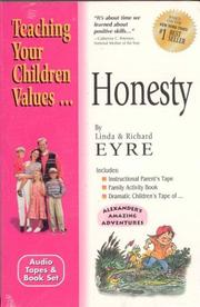 Cover of: Honesty (Teach Your Children the Values of)