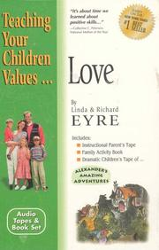 Cover of: Love (Teach Your Children the Values of)
