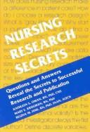 Cover of: Nursing Research Secrets