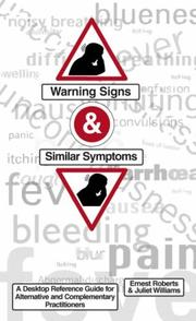 Cover of: Warning Signs and Similar Symptoms