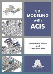 Cover of: 3D Modeling with ACIS
