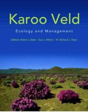 Cover of: Karoo Veld Ecology and Management
