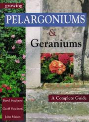 Cover of: Growing Pelargoniums and Geraniums