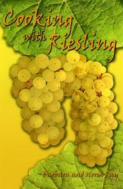 Cover of: Cooking with Riesling