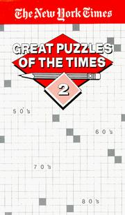Cover of: Great Puzzles of The Times #2