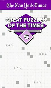 Cover of: Great Puzzles of The Times #5