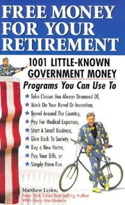 Cover of: Free Money For Your Retirement
