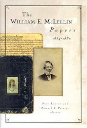Cover of: The William E. McLellin papers, 1854-1880