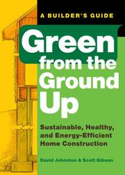 Cover of: Green from the Ground Up