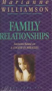 Cover of: Family Relationships