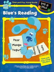 Cover of: Blue's Reading: Pre-K Plus (A Blue's Clues Think and Play Along Sticker Book)