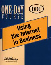 Cover of: Using the Internet in Business One-Day Course