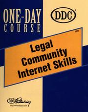 Cover of: Legal Community Internet Skills One-Day Course