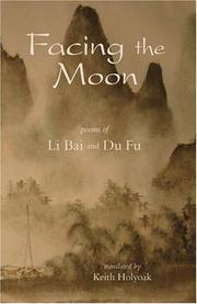Cover of: Facing the Moon