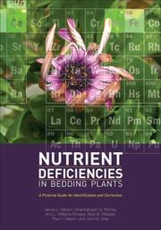Cover of: Nutrient Deficiencies in Bedding Plants