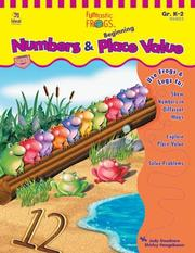 Cover of: Numbers and Beginning Place Value