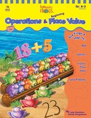 Cover of: Funtastic Frogs Operations and Beginning Place Value