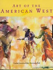 Cover of: Art of the American West