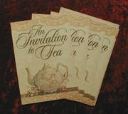 Cover of: An Invitation to Tea Invitations