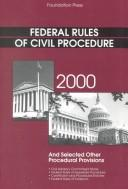 Cover of: Federal Rules of Civil Procedure