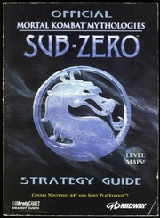 Cover of: OFFICIAL MORTAL KOMBAT MYTHOLOGIES SUB-ZERO STRATEGY GUIDE