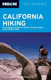 Cover of: Moon California Hiking (Moon Handbooks)
