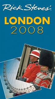 Cover of: Rick Steves' London 2008 (Rick Steves)