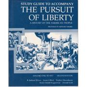 Cover of: The Pursuit of Liberty: A History of the American People