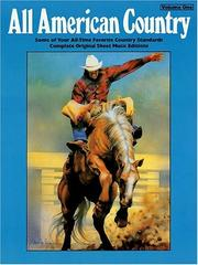 Cover of: ALL AMERICAN COUNTRY, Vol. 1