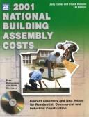 Cover of: 2001 National Building Assembly Costs