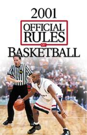 Cover of: Official Rules of Ncaa Basketball 2001