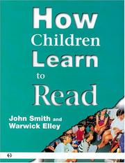 Cover of: How children learn to read