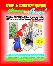 Cover of: Cheap and Easy! Oven, Cooktop, Range & Stove Repair (Cheap and Easy! Appliance Repair Series) (Emley, Douglas. Cheap and Easy!,)