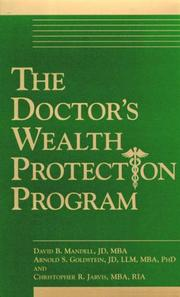 Cover of: The Doctor's Wealth Protection Program (2 Audiocassettes)