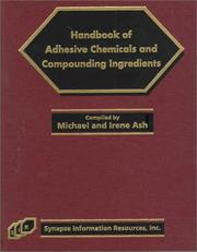 Cover of: Handbook of Adhesive Chemicals and Compounding Ingredients