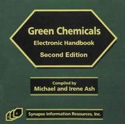 Cover of: Green Chemicals Electronic Handbook, Second Edition