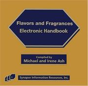Cover of: Flavors and Fragrances Electronic Handbook