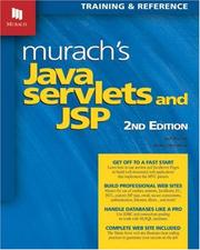 Cover of: Murach's Java Servlets and JSP 2nd Edition