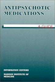 Cover of: Antipsychotic Medications