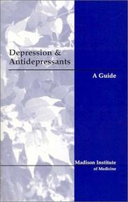 Cover of: Depression and Antidepressants