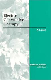 Cover of: Electroconvulsive Therapy