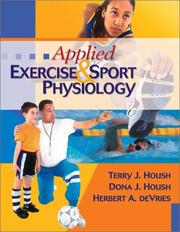 Cover of: Applied Exercise and Sport Physiology